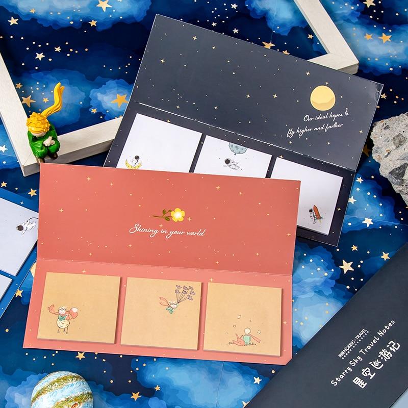 Печенья банка с крышкой NOTE креативный 60 страниц Примечания Star парад липкий Блокнот подарки школьные канцелярские принадлежности