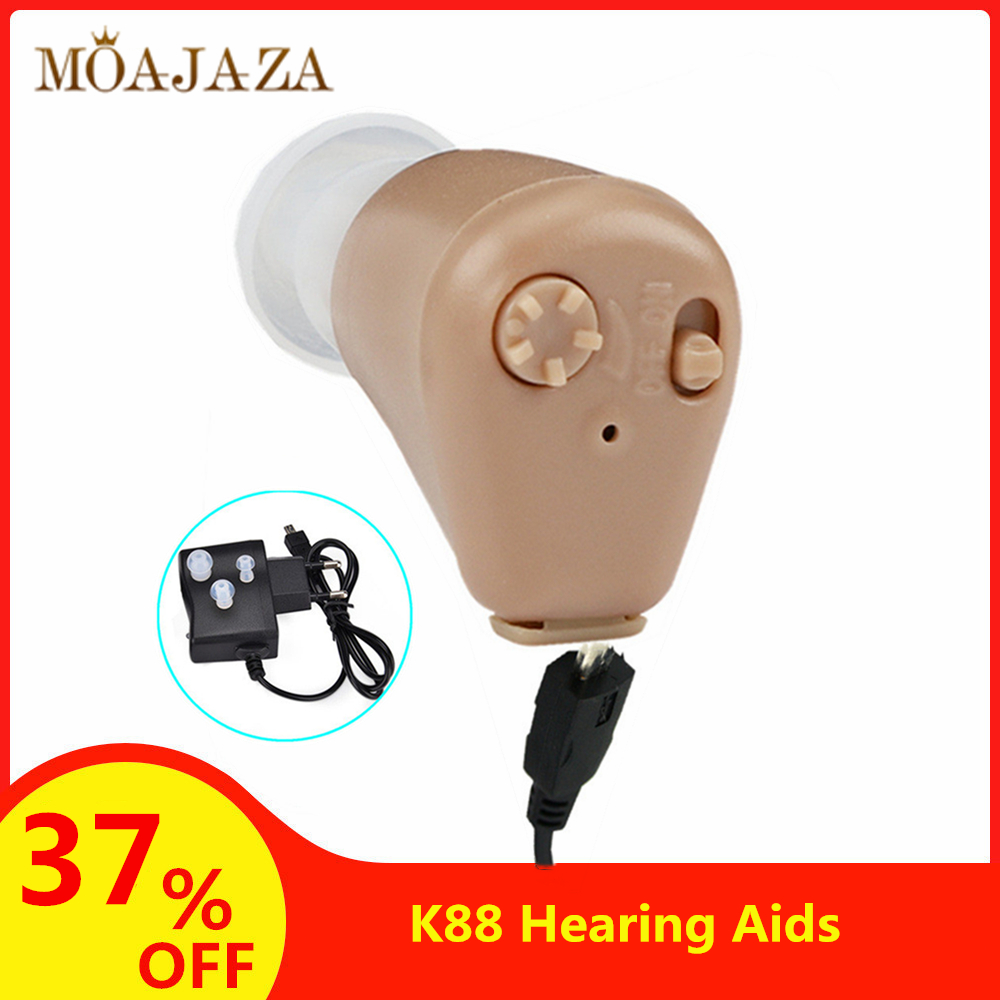 Digital Rechargeable Hearing Aids Drop Shipping Sound Amplifier Ear Aid Hearing Device Mini Invisible Hearing Aid For Elderly