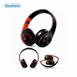Bluetooth 4,0 Складные стереонаушники, беспроводные наушники с усиленными басами, гарнитура с микрофоном EDR, Bluetooth спортивные наушники для телефо...