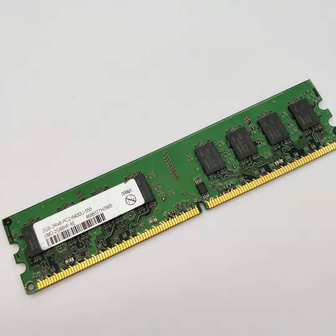 For 2GB 2X2GB 8GB DDR2 Desktop Memory 800Mhz pc2 6400u DIMM RAM
