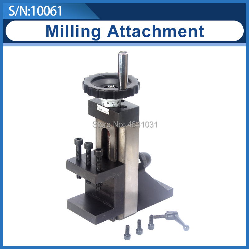 Milling Attachment/Vertical Slider For Machine Tool/SIEG C2/C3/SC2/CJ0618 Tool Slider/Vertical Plate S/N:10061