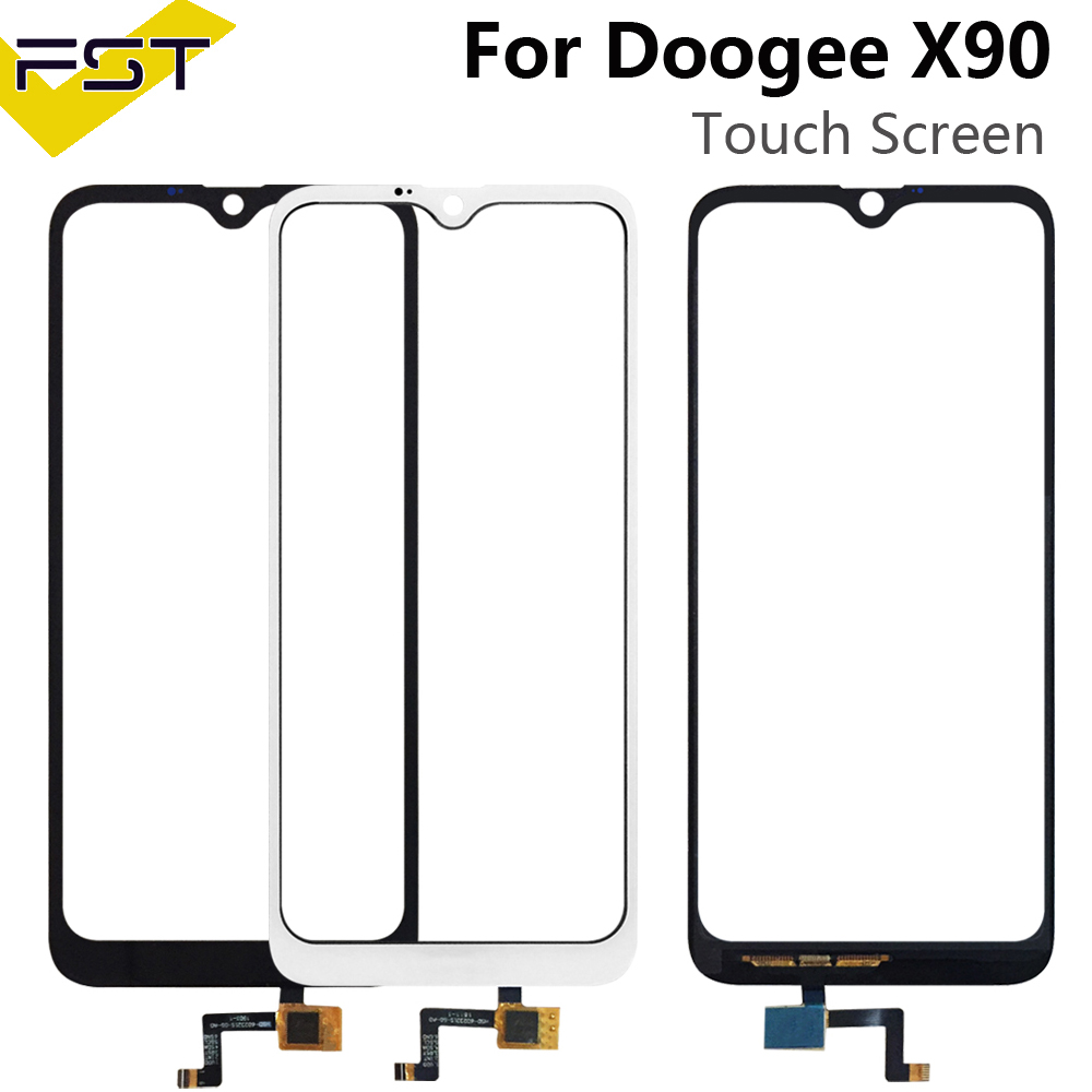 6.1'' Touch Screen For Doogee X90 Perfect Repair Parts Touch Panel Sensor Glass Lens For Doogee X90 Phone+Tools