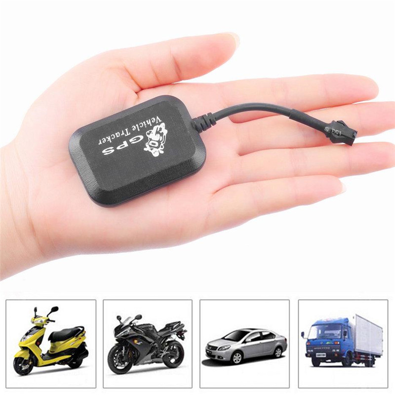 Mini Vehicle Motorcycle Bike GPS/GSM/GPRS Real Time Tracker Monitor Tracking Black Automotive GPS Tracker Use For Global