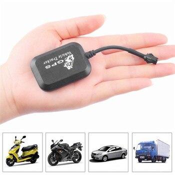 Mini vehículo motocicleta bicicleta GPS/GSM/GPRS seguimiento en tiempo Real Monitor negro automotriz GPS Tracker uso para Global