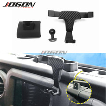 Car Dashboard GPS Cell Phone Mount For Jeep Wrangler JL 2018 2019 Bracket Stand Holder Support Accessories