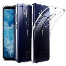 Cherie 9 TPU silicone Macio Caso Transparente Para Nokia 4.2 3.2 2.2 2.1 3.1 5.1 6.1 7.1 7 Plus 8.1 1 2 3 5 6 8X71X7 Tampa Do Caso
