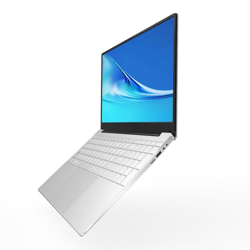 15.6 Inch 8GB RAM DDR4 256GB SSD Notebook Intel J4105 Quad Core Laptops With FHD 1920X1080 Display Ultrabook Computer