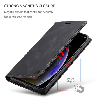 Luxury Leather Cover For iPhone XS Max Case Flip Wallet Magnetic Phone Case iPhone XR Case iPhone X 6 6s 7 8 Plus 11 12 Pro Case 2