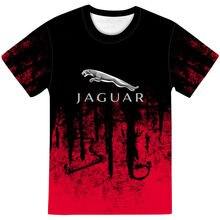 T-shirt manches courtes pour homme et femme, estival et moulant, avec lettres Jaguar imprimées en 3D, à la mode, grande taille Ou, 2021