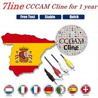 Europäische Cccam 2020 neueste Cccam Cline ist geeignet für Spanien Portugal Deutschland Polen GTmedia V8 Nova Satellitenfernsehen empfangen Satelliten-TV-Receiver Verbraucherelektronik -