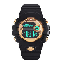 Black Gold Children's Watch For 7-18 Years School Student Di