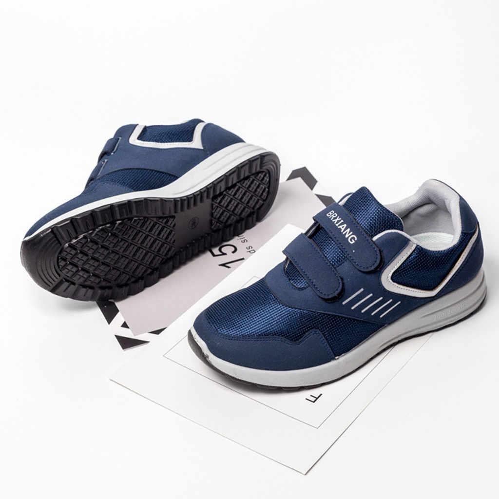 Monk sapanlar erkek düz spor ayakkabı Flats koşu rahat nefes Sneakers öğrenciler büyük boy düz ayakkabı кроссовки мужские