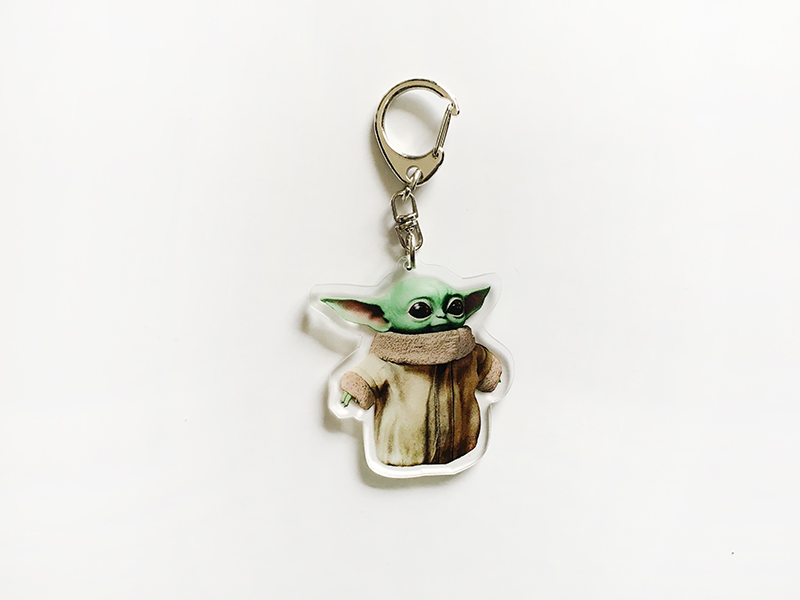 Baby Yoda The Child Keychain Cute Toys