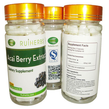 цена на 3Bottles Acai Berry Extract Caps (500mg x 270Counts) Strong Antioxidant, Anti-aging and Max slim