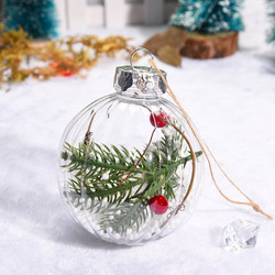 Christmas 2019 Home Decorations Cherry Decoration Ball DIY Christmas Tree Hangings Deco Noel Bois Kerst Natale Dropshipping # 3