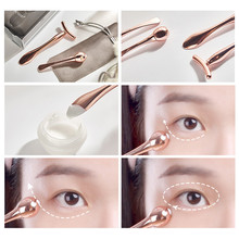 Facial Beauty Tool Slimming Face Eye Ball Massager Anti-Wrinkle Remover Dark Circles Against Puffiness Massage Stick