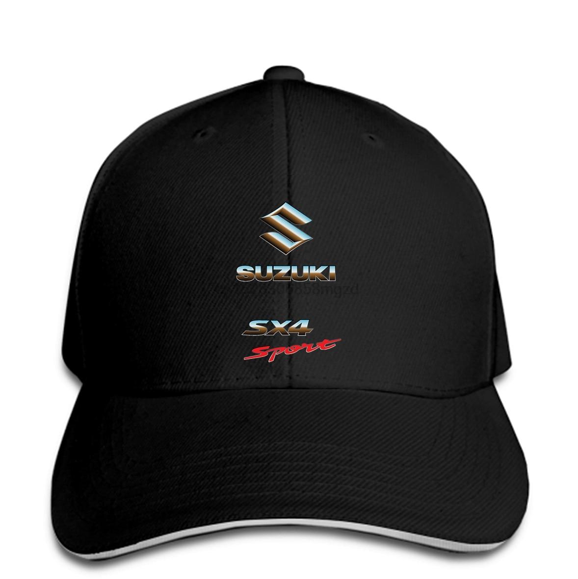 SUZUKI SX4 SPORT RALLY CAR Men Baseball Cap SUZUKI RACING TEAM Men Baseball Cap Snapback Cap Women Hat Peaked