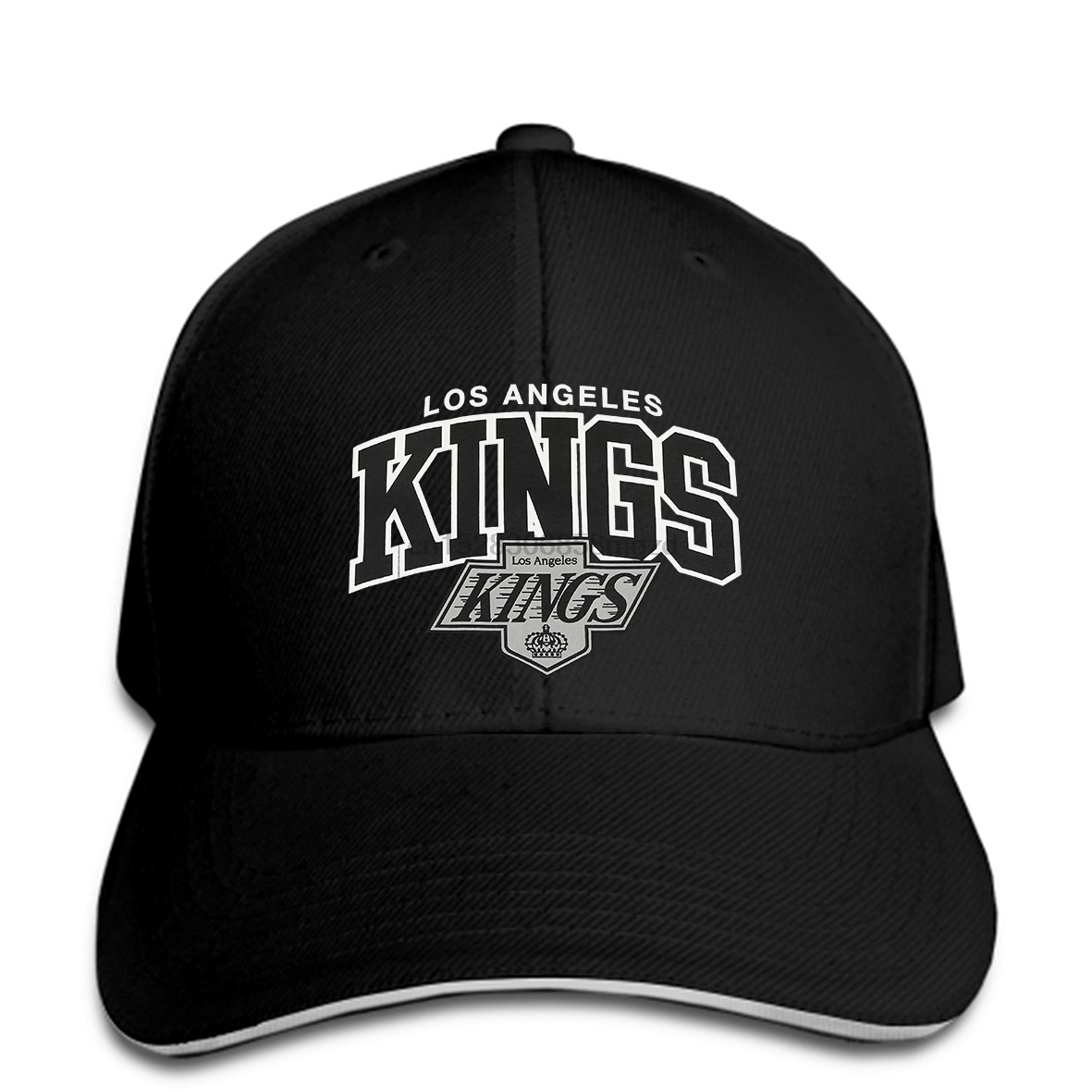 Mitchell & Ness Hat LA Kings Traditional Team Arch grey Snapback Cap Women Hat Peaked