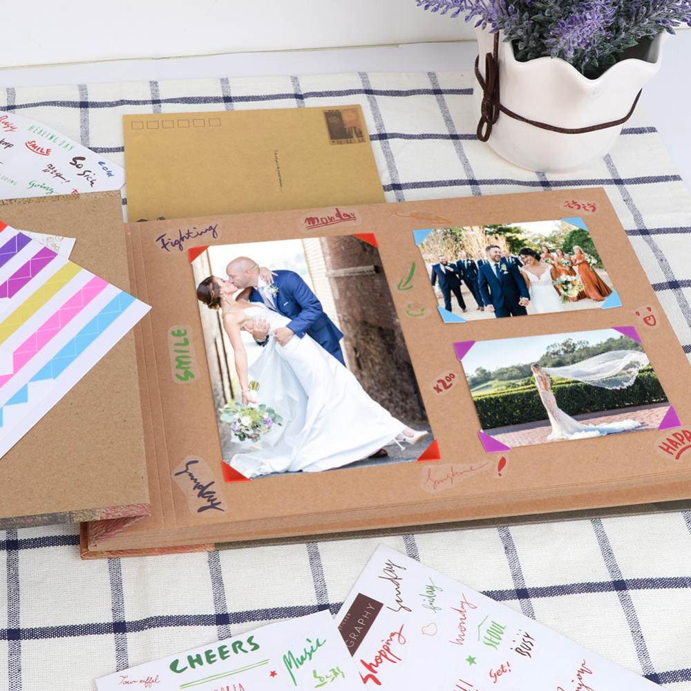 casamento álbuns de fotos scrapbook imagem álbum