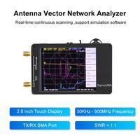 אנטנה vhf uhf NanoVNA 50kHz-900MHz דיגיטלי Analyzer Network וקטור מסך נגיעה Shortwave MF HF VHF UHF אנטנה מנתח המתמדת Wave (2)