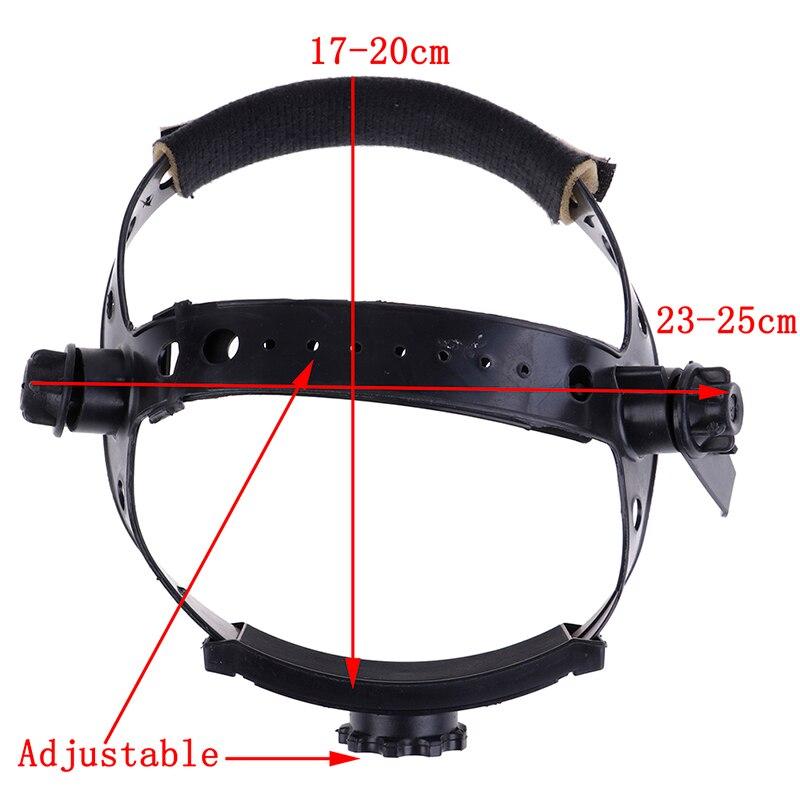 Adjustable Welding Welder Mask Headband Solar Auto Dark Helmet Accessories