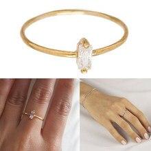 Autêntico 925 anéis de prata esterlina redonda zircônia cristal anéis de dedo para o casamento feminino original jóias de prata a30