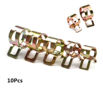 10Pcs Spring Band Fuel Hose Clips Clamp Silicone Pipe Clamp Reusable Optional Clip 6mm 7mm 8mm 9mm 10mm 11mm 12mm 13mm 14mm 15mm image