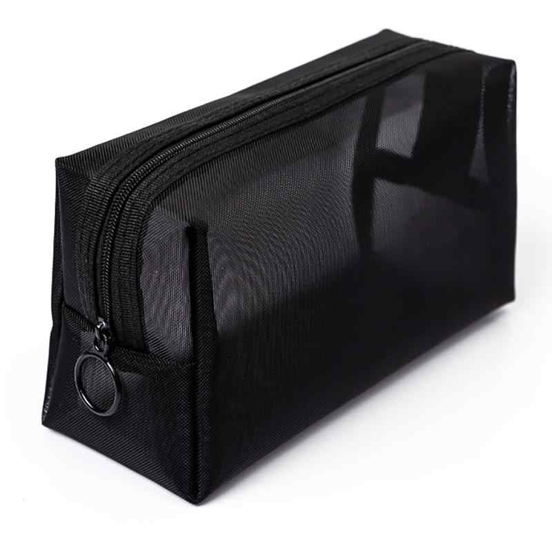Women Transparent Cosmetic Bag Travel Function Makeup Case Zipper Make Up Organizer Storage Pouch Toiletry Beauty Wash Bag