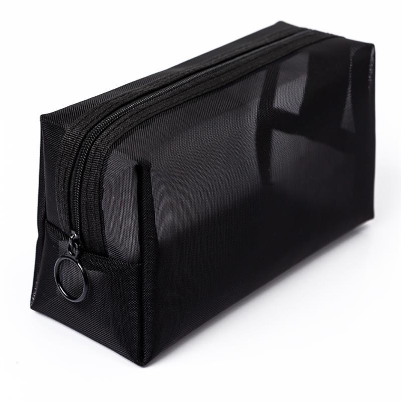 여자 투명 화장품 가방 여행 기능 메이크업 케이스 지퍼 메이크업 주최자 스토리지 파우치 세면 용품 뷰티 워시 가방