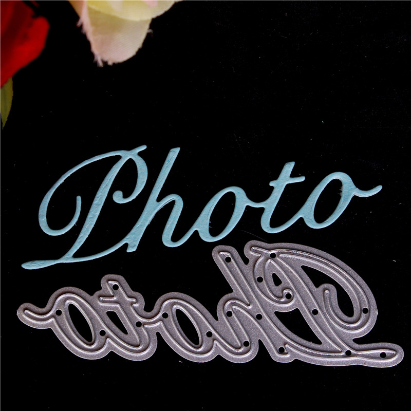 French Word Metal Cutting Dies For Diy Scrapbooking Die Cut New  Cuts  Paper Card Making Craft Embossing I Love You
