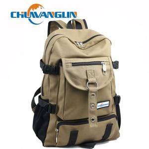 Image 1 - New backpack men Fashion strap zipper solid casual bag male backpack school bag canvas bag designer backpacks for men backpacks