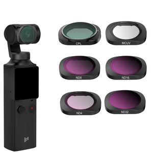 For Xiaomi FIMI Palm Gimbal Filter Neutral Density Polar Accessories ND/UV/CPL C-PL Filters Set For Xiao Mi FI MI Palm