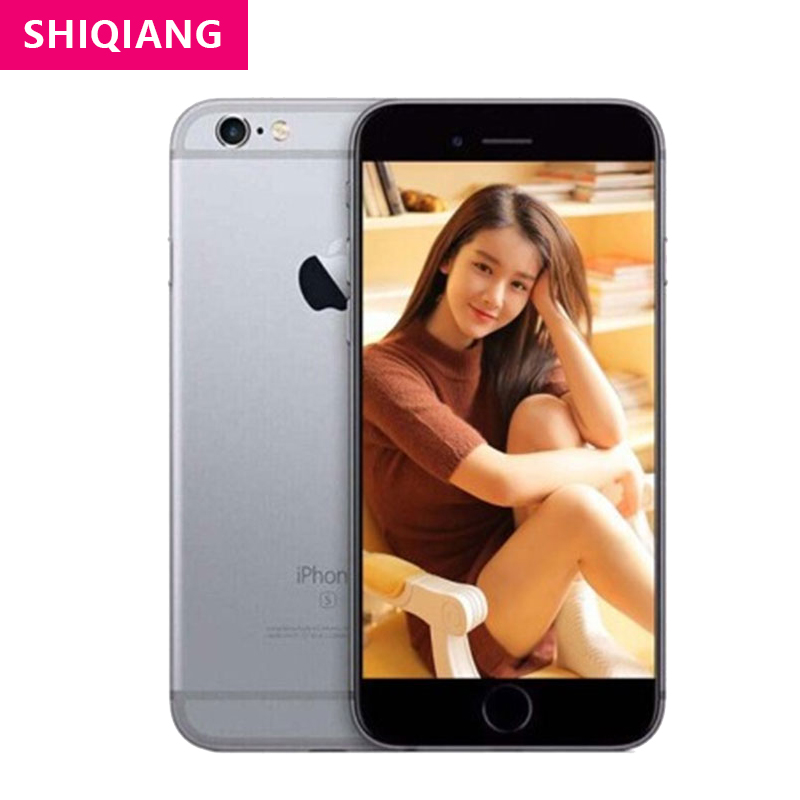 Téléphones portables Apple iPhone 6S dorigine déverrouillés 4.7 16/64/128GB ROM IOS 4G LTE 12.0MP SmartPhones à double empreinte digitale A9