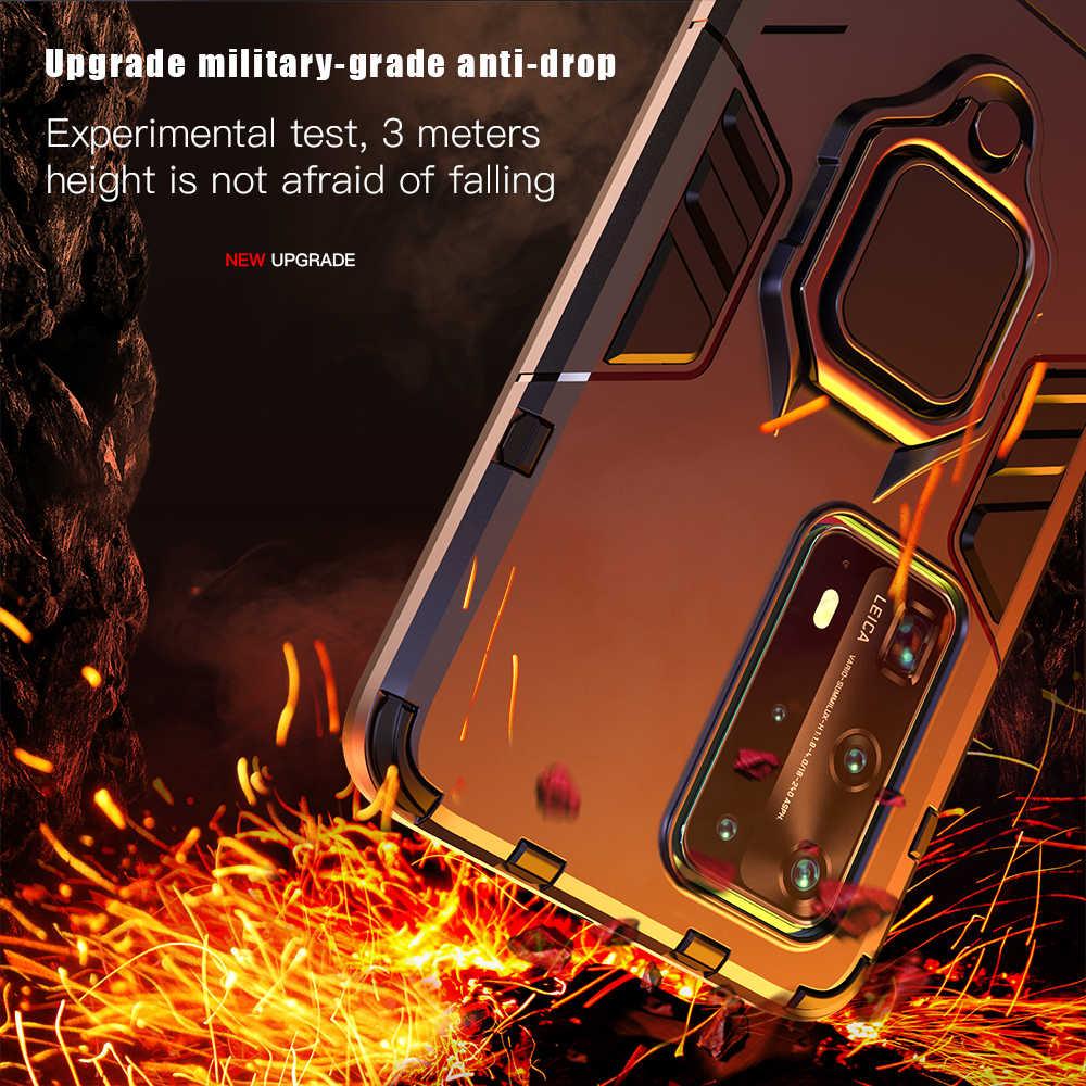 Keysion Tahan Guncangan Case untuk Kehormatan 20 Pro 10i 10 8X 9S Ponsel Cover untuk Huawei P40 Pro P30 P20 lite Mate 30 20 Pro Y5P Y6P Y7P Y8P