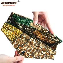 Women`s Money Clip African Wax Fabric Print Ankara Wallet Handmde Flower Floral Gift for Women Girls AFRIPRIDE A1928007