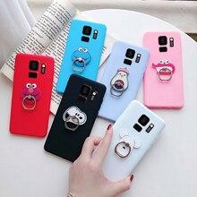 Милый силиконовый мультяшный Чехол-держатель для телефона Samsung galaxy s9, s9 plus, Samsung s, 9, Samsungs9 plus, чехол-подставка, Роскошный чехол