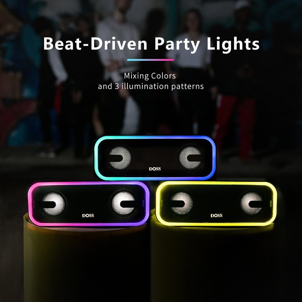 DOSS Soundbox Pro+ Bluetooth Speaker 10