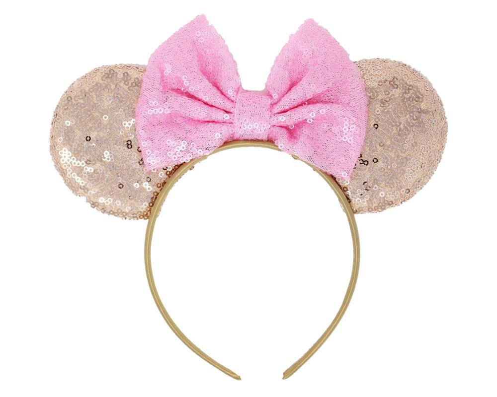 2020 New Sequin Bow Knotted Headwear Winter Minnie Halloween Headband  For Girls Hair Accessories Holiday Party Pakistan