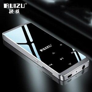 Image 2 - Original Ruizu D02 Bluetooth MP3 player Built in Speakers with e book Video Radio Mini Walkman