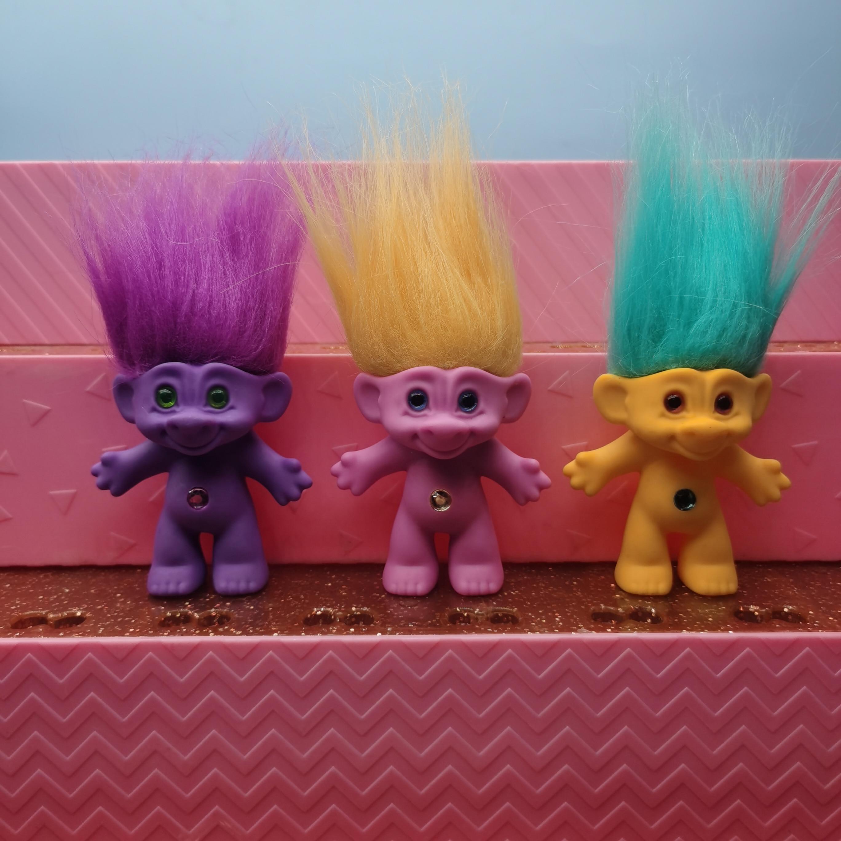 Оригинальные Волшебные эльфы из нескольких стилей на выбор, волшебные волосы, длинные волосы, Тролль, Бий игрушка, кукла, детская игрушечная...