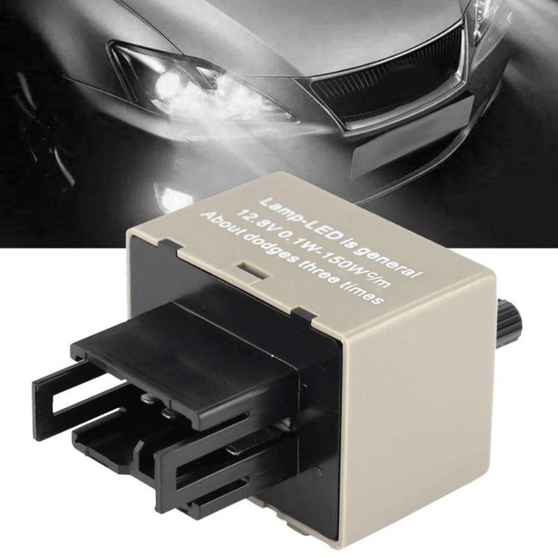 Drop Shipping 8 Pin LED Flasher Relay Module Fix Signal Light Hyper Flash Blinker For 81980-50030 066500-4650