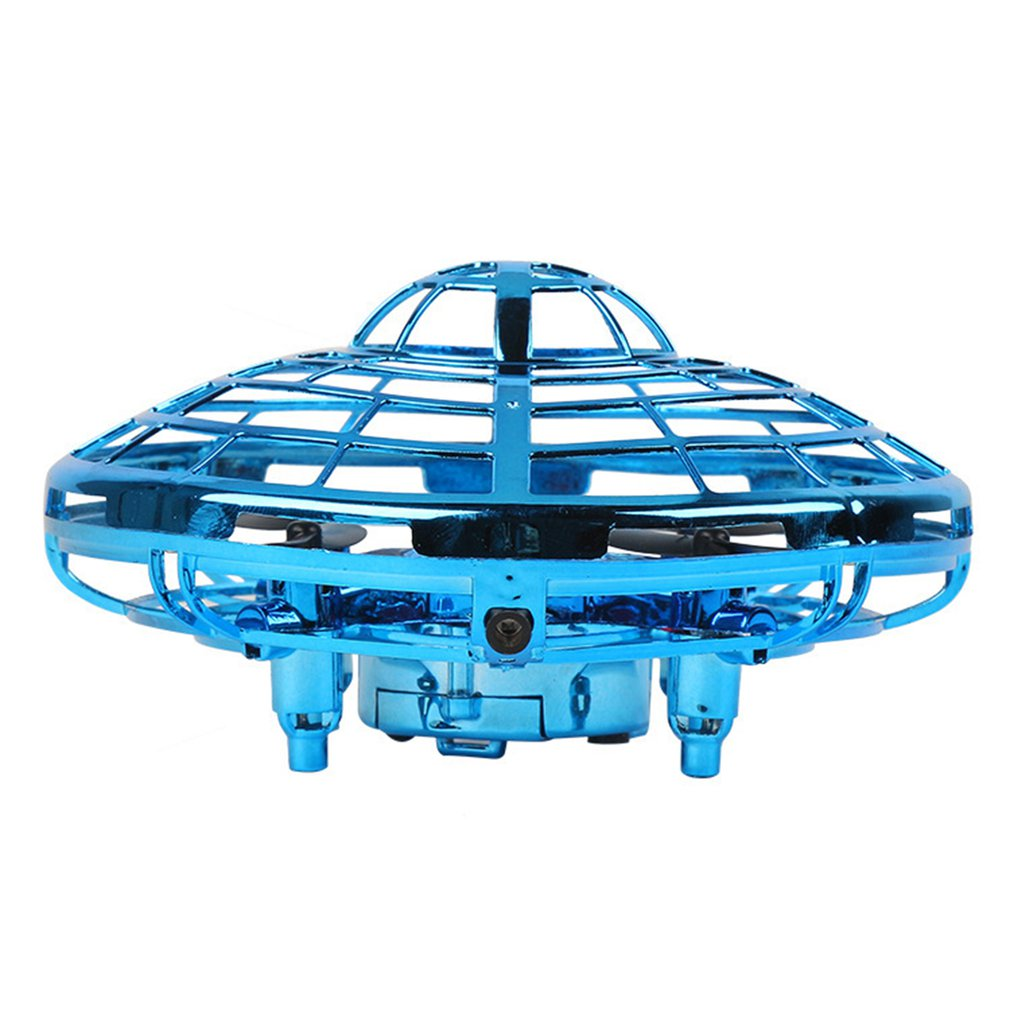 Mini UFO Hand Operated RC Helicopter Quadrocopter Dron Infrared Induction Aircraft Flying Ball Toys For Kids image