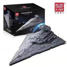 Yıldız savaşları UCS yürütücü İmparatorluk Destroyer tuğla Model seti yıldız savaşları yapı taşları DIY oyuncaklar uyumlu lepining 10221 75252