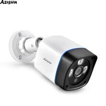AZISHN 1080P IP كاميرا onvif كشف الحركة RTSP في الهواء الطلق مقاوم للماء داخلي فيديو الأمن مراقبة رصاصة 48 فولت POE CCTV كاميرا