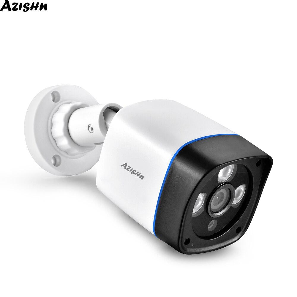 AZISHN 720P 960P 1080P IP Camera Onvif Motion Detection RTSP Outdoor Indoor Video Security Surveillance Bullet 48V POE CCTV Cam
