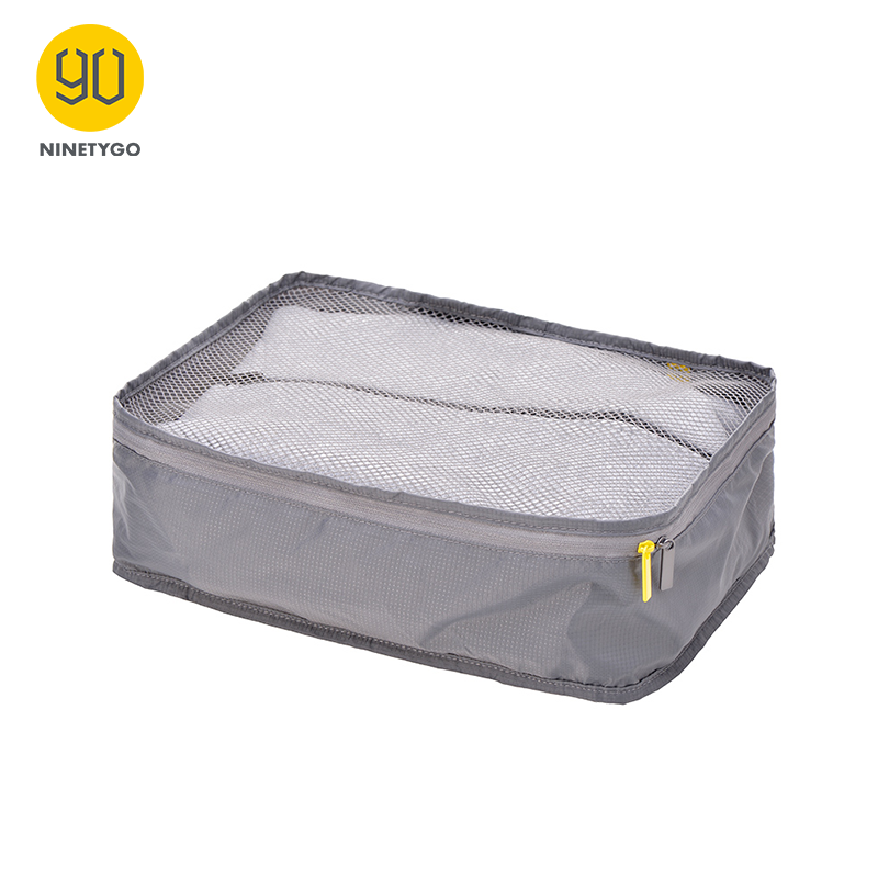 NINETYGO 90FUN Portable Storage Bag Waterproof Suitcase Foldable Organizer For Clothing Shirts Travel Trip Vacation Men Women