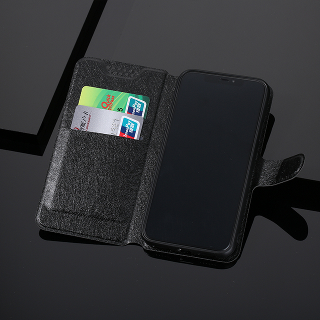 Custodia Telefono in Cuoio per Bq Aquaris U2 C U X5 V Vs X2 X Più Lite Pro E5 S m5 M5.5 M4.5 E4.5  1