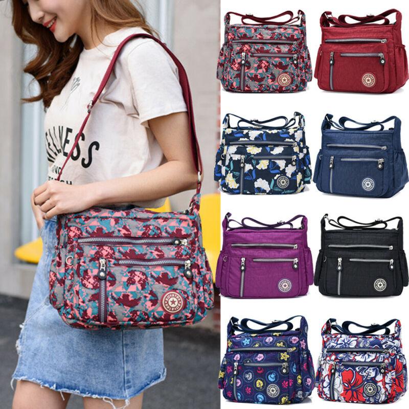 Women Handbag Fashion Shoulder Purse Messenger Satchel Crossbody Tote Bags For Women 2020 Polyester Ladies Printing Shoulder Bag