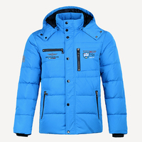 Winter Men Jacket Best Quality Thermal Thicken Coat Snow blue Parka Male Warm Outwear Men Fashion gray Duck Down Feather Jacket