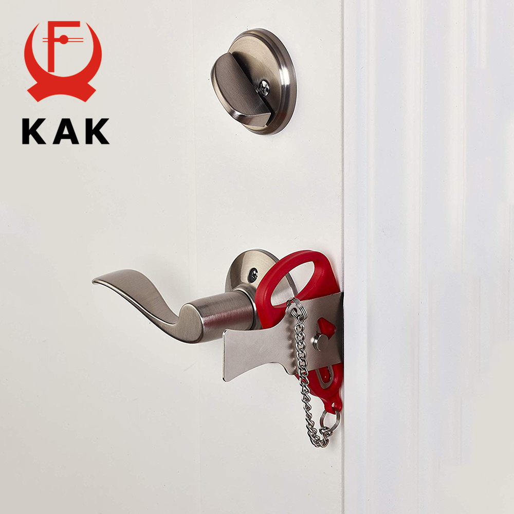 Door Lock Hardware Safety Security Tool for Home Privacy Travel Hotel S3